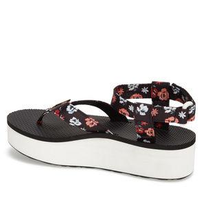 f3a8fb8da81d Teva Shoes - Teva Floral Flatform Thong Sandal